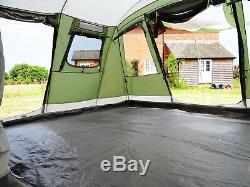 Outwell Montana 6p family tent with Footprint Groundsheet, excellent condition