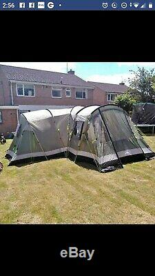 Outwell Nebraska XL 8 Man Family Tent Very Spacious Large Tent For Camping