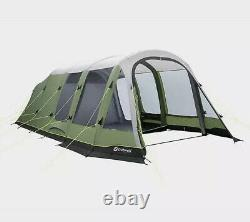 Outwell inflatable woodburg 6 berth family air tent (less Than 12 Months Old)