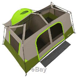 Ozark Trail 11-Person 3-Room Instant Cabin Tent Private Room Outdoor Family Camp