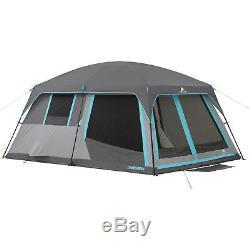 Ozark Trail 14' x 12' Half Dark Rest Family Cabin Tent Sleeps 12 People Large