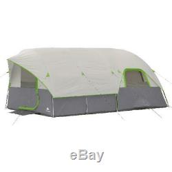 Ozark Trail 16' x 8' Modified Dome Tunnel Tent Sleeps 8 Outdoor Family Camping