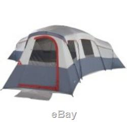 Ozark Trail 20-Person 4-Room Large Family Cabin Tent w Mud Mat Camping Outdoors