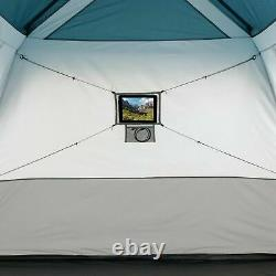 Ozark Trail 6-Person Instant Cabin Tent with LED Lighted Poles 10'L x 9'W x 66H