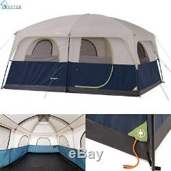 Ozark Trail Family Cabin Tent 10-Person Sleep Camping Outdoor Hiking Shelter New