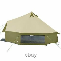 Ozark Trail Olive Green Waterproof Yurt Tent 8 Person Summer Family Camping