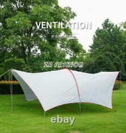 Portable Large Beach Canopy Waterproof Sun Shade Tent Shelter Outdoor Camping