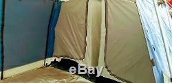 ProAction nevada 8 person Tent 3/4 rooms 300x (215 + 120 +120 + 215) x 200cm