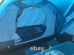 Quechua Arpenaz 6.3 Family Tent 6 Person 3 Room Camping Hood Tent