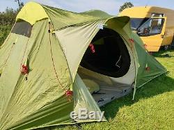 Quechua Base Seconds Family 4.1 pop up tents beige tall large Decathlon VGC
