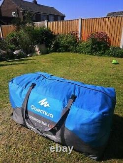 Quechua inflatable tent Air Seconds Family 4.2 xl tall blow up large pump camp