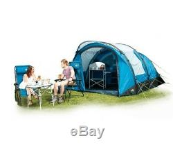 ROYAL PORTLAND AIR 4 PERSON TENT & CARPET & GROUNDSHEET camping family valdes