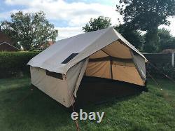 Robens Prospector 12-person Polycotton tent, khaki, good condition, retro-style