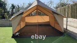 Robens Prospector cotton convas polycotton ridge mess tent large rustic steel