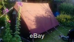 Scout Patrol Re-enactment Living History Large Canvas Tent