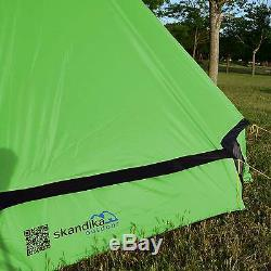Skandika Comanche Tipi Teepee 8 Person/Man Camping Tent Large Sewn-in Floor New