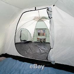 Skandika Korsika 10 Person/Man Family Dome Camping Large Group Green New