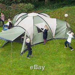 Skandika Korsika 8 Person/Man Family Dome Camping Large Group Green New