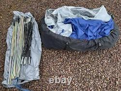 Skandika MILANO 6 Person Large Sewn-In Family Tunnel Tent Blue