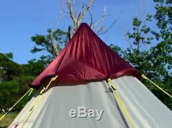 Skandika Tipii 200 6 Person Tipi Teepee Large Outdoor Festival Camping Tent