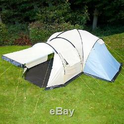 Skandika Toronto 6 Person Family Dome Camping Tent Large Canopy 2017 Model New