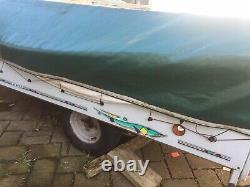 Spares Or Repairs Jamet Large 8 berth Trailer Tent Not Touring Caravan Camping
