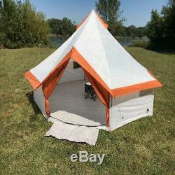 Stand Up Tent Yurt Camping 6-8 Person Family Extra Large Waterproof Yert