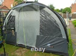 SunnCamp Family Vario 600+ Family Tunnel Tent