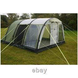 Sunncamp Invadair 600 Airbeam Tent Sleeps 6 Pitched In Mins, Excellent Condition