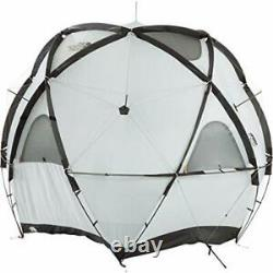 THE NORTH FACE Geodome 4 Tent with Footprint NV21800 Saffron Yellow NEW