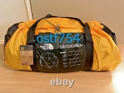 THE NORTH FACE NV21800 Geodome 4 Tent Saffron Yellow 3 Season