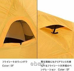 THE NORTH FACE Tent Geodome 4 NV21800 Saffron Yellow