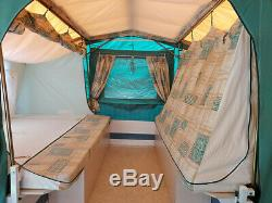 TRIGANO Trailer Tent, large extending with 2 additional awnings