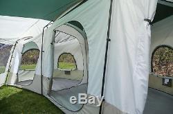 Tahoe Gear Carson 3-Season 14 Person Large Family Cabin Tent TGT-CARSON-18