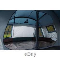 Tahoe Gear Ozark TGT-OZARK-16 16-Person 3-Season Large Family Cabin Tent, Blue