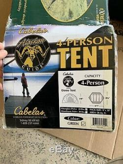 Tent Cabela's Alaskan Guide 4 Person