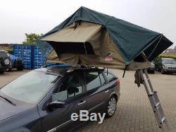Tente de toit en toile TEMBO extra-large raid-bivouac NEUF