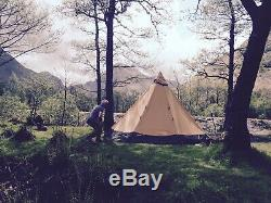 Tentipi Safir 7cp plus comfort inner and large canopy