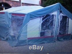Trigano Vendome Large Trailer Tent Sleeps 8+double Awnings/extentions-cost£4.5k+