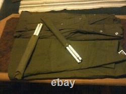 Two Military Polish large lavvu ponchos rare size III versions