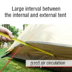 UK 4-persons Camping Waterproof Family Indian Style Pyramid Tipi