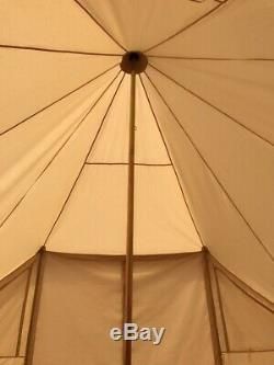 UK Shipped Large Cotton Canvas Family Camping Touareg Tent for 810 Persons