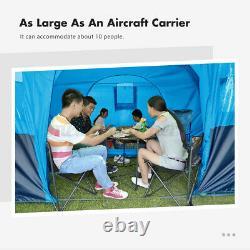 UK Waterproof Outdoor Camping Tents Garden Hiking Tent Portable Large 8-10 Man