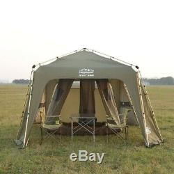 Ultra Large Shelter Outdoor Party Family Tent 12 Person Automatic Instant Open