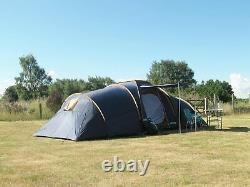 Ultracamp Grenville 12 Person Tent and Large Camping Equipment Bundle