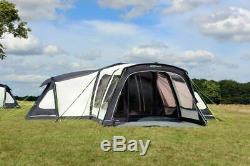 Up 1x Large Outdoor Revolution Airedale Air Inflatable 12 Man Berth Person Tent
