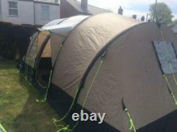 Up Once Only Kampa Southwold 4 + 2 Berth Man Air Blow Up Large inflatable Tent