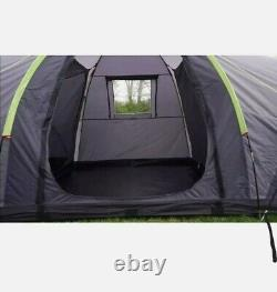 Urban Escapes 6 person 2 Rooms tunnel tent Large Family Tent with porch