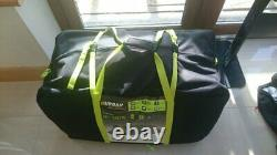 Urban escape 6 person inflatable tent up to 3 rooms Large Family Tent