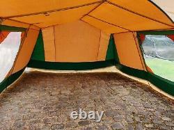 Used Retro Cabanon 6 Berth Frame Tent